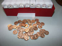 1968 S UNC ROLL  LINCOLN PENNY CENTS OLD COLLECTION UN SEARCHED FROM MINT BAG
