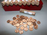 1979 D UNC ROLL  LINCOLN PENNY CENTS OLD COLLECTION UN SEARCHED FROM MINT BAG