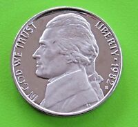 1982 S  PROOF  5C JEFFERSON NICKEL   FREE DOMESTIC SHIPPING
