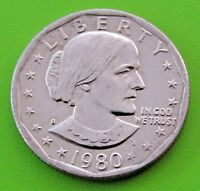 1980 S SBA$1 SUSAN B. ANTHONY DOLLAR   UNCIRCULATED   FREE DOMESTIC SHIPPING