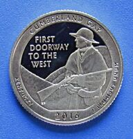 2016 S 25C CUMBERLAND GAP NP DC  PROOF  AMERICA THE BEAUTIFUL QUARTER