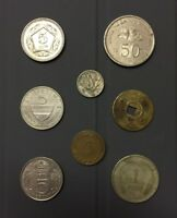 VINTAGE WORLD COIN COLLECTION VARIOUS DENOMINATIONS/COUNTRIES