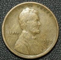 1909 S LINCOLN WHEAT CENT PENNY
