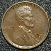 1920 S LINCOLN WHEAT CENT PENNY