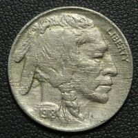 1918 BUFFALO NICKEL   NICE    HEAVY CORROSION
