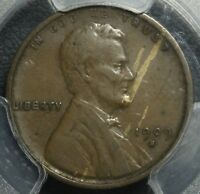 1909 S VDB LINCOLN WHEAT CENT PENNY PCGS VF DETAILS   THE KING OF THE LINCOLNS