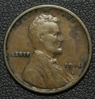 1914 S LINCOLN WHEAT CENT PENNY