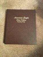 NEW DANSCO AMERICAN EAGLE SILVER DOLLARS W/PROOF 1986 -2008 ALBUM COIN BOOK 8181