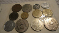 WORLD COINS VARIOUS COUNTRIES AND YEARS   LOT 515