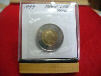 1999  CANADA 2$ TWO  DOLLAR  COIN   REGULAR  TOONIE    99  PROOF LIKE  SEALED