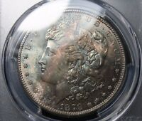 1879 S MORGAN SILVER DOLLAR PCGS MS65 TONING TONED COLOR  PRICE REDUCED