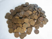 10 ROLLS LINCOLN WHEAT CENTS-1930'S 1940'S 1950'S-WILL ADD 2 BONUS INDIAN CENTS