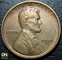 1919 S LINCOLN CENT WHEAT CENT  --  MAKE US AN OFFER  Y6985