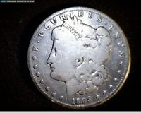 1893 O MORGAN SILVER DOLLAR ONLY 300,000 MINTED CIRCULATED & TONED  6688