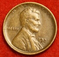 1921-S 1C LINCOLN WHEAT CENT PENNY EXTRA FINE  COLLECTOR COIN CHECK OUT STORE LW1720