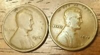 1914 1915 LINCOLN WHEAT CENT PENNY GOOD TO FINE
