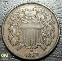 1867 2 CENT PIECE  --  MAKE US AN OFFER  Y9275