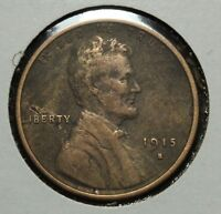 1915 S LINCOLN WHEAT CENT PENNY - CLEANED