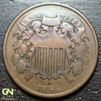 1864 2 CENT PIECE  --  MAKE US AN OFFER  R3981
