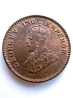 BRITISH INDIA KING GEORGE V  1/12 TH ANNA 1932  LUSTRE UNCIRCULATED