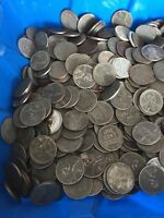 STEEL WHEAT PENNIES 500 CENTS US COINS 1943-S MINTS 47.5OZ ALL S MINT