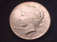 1921 PEACE DOLLAR OUTSTANDING KEY DATE COIN  122