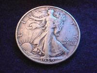 1939-D WALKING LIBERTY HALF  COIN--NO RESERVE    4