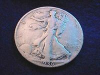1936-D WALKING LIBERTY HALF DOLLAR  COIN   2