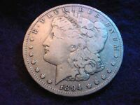 1894-S MORGAN DOLLAR SUPERIOR KEY DATE COIN  175