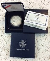 2010 BOY SCOUT SILVER PROOF DOLLAR NIB