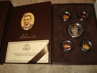 2009 UNITED STATES MINT LINCOLN COIN AND CHRONICLES SET OMP & COA