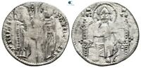 SAVOCA COINS MEDIEVAL SILVER COIN CHRIST 1 88G/19MM $KBP3505