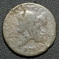 Click now to see the BUY IT NOW Price! 1793 FLOWING HAIR LIBERTY CAP COPPER HALF CENT   SUPER  RARITY
