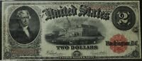 1917 $2 UNITED STATES NOTE   TWO DOLLAR FR60