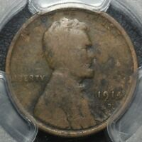 1914 D LINCOLN WHEAT CENT PENNY PCGS G DETAILS ENVIRONMENTAL DAMAGE