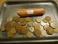 1944 S ROLL OF CIRCS LINCOLN WHEAT CENTS    COMBINED SHIPPING