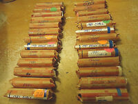 1981 D CIRCS CENT ROLL    YOU ARE BIDDING ON THIS LISTED ROLL ONLY