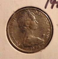 CIRCULATED 1976 10 CENT NEW ZEALAND COIN  72216