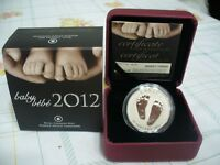 2012  RCM CANADA 10$   FINE SILVER COIN WELCOME TO THE WORLD  LIMITED EDITION