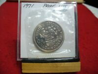 1971  CANADA  NICKEL  DOLLAR  COIN   TOP GRADE   71  PROOF LIKE  SEALED  AUCTION