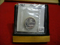 1962 CANADA SILVER DIME  10 CENTS TOP GRADE  62A  PROOFLIKE  SEALED  SEE PHOTOS
