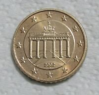 GERMANY   FEDERAL REPUBLIC 50 EURO CENT 2002 D