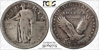 Click now to see the BUY IT NOW Price! 1916 STANDING LIBERTY SILVER QUARTER PCGS AG 03   KING OF THE STANDING QUARTERS