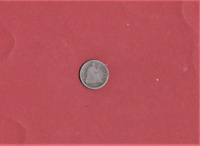 1853 HALF DIME 165 YEARS OLD & ANTIQUE 277