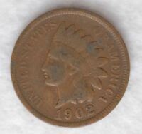 1902 1C BN INDIAN CENT G [C0351] WILL COMBINE SHIPPING