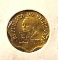 CIRCULATED 1979 5 SENTIMOS PHILIPPINE COIN