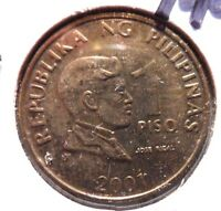 CIRCULATED 1993/2001 1 PISO PHILIPPINO COIN   51615