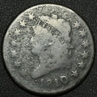 1810 CLASSIC HEAD COPPER LARGE CENT - ENVIRONMENTAL DAMAGE