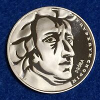 1972 POLAND 50 ZLOTYCH   FREDERIC CHOPIN COMMEMORATIVE PROOF   FROSTY DCAM