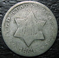 1853 3 CENT SILVER PIECE  --  MAKE US AN OFFER  R5275
